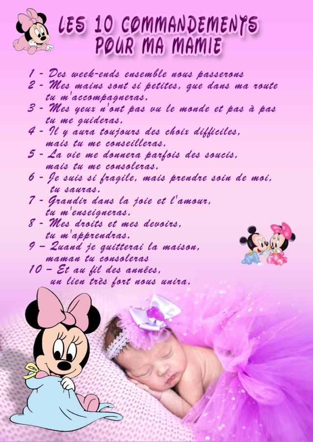 10 commandements papi et mamie Mamie11