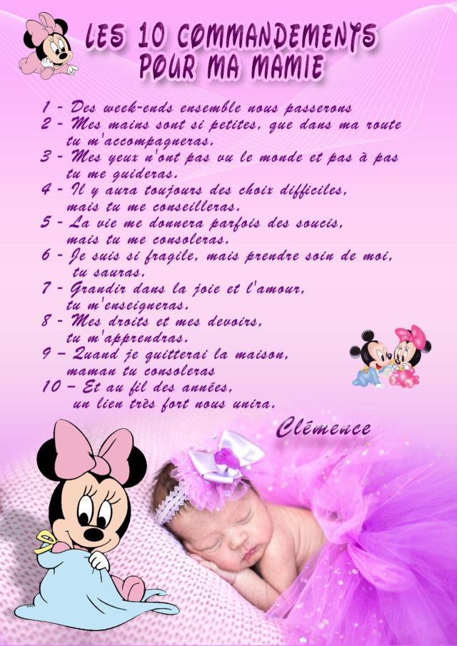 10 commandements papi et mamie Mamie12