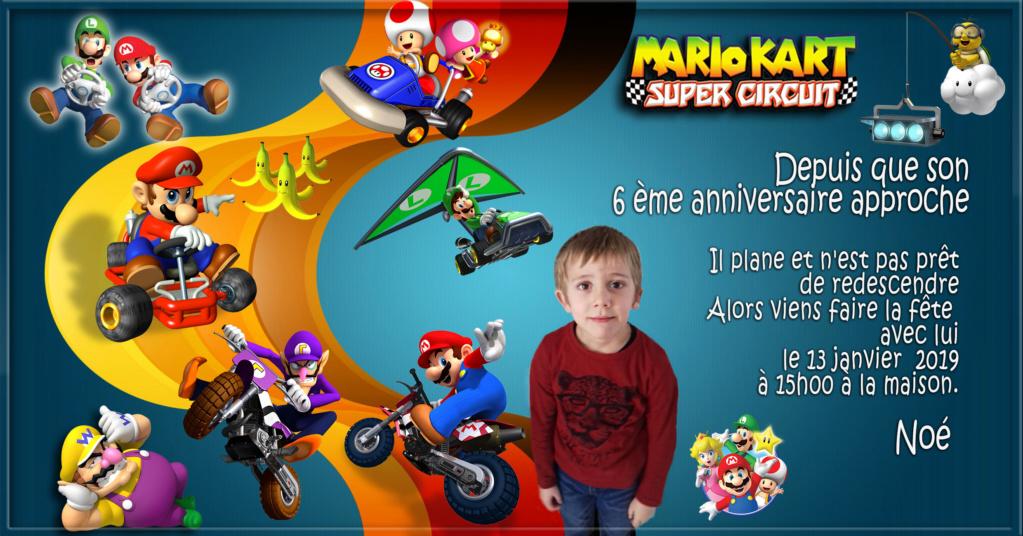 anniversaire des enfants! Mariok11