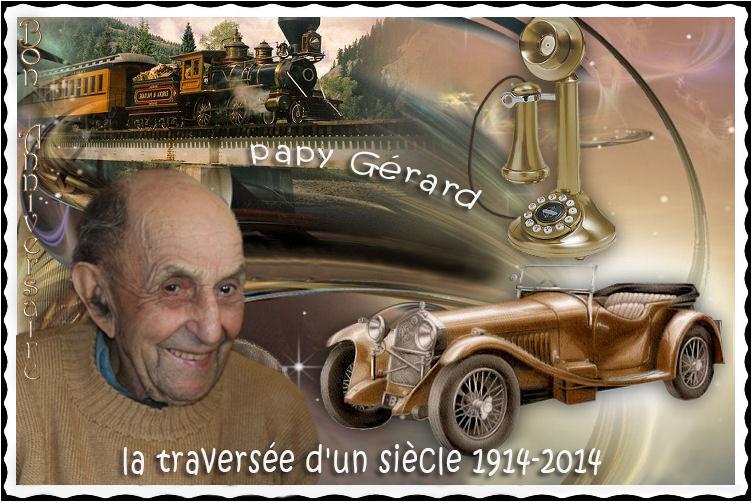 Carte anniversaire 100 ans  Papy_l10