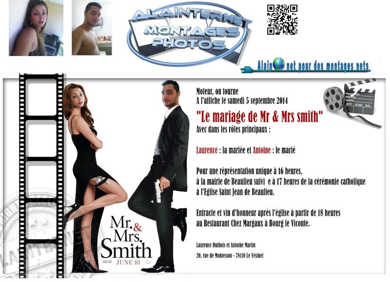 affiche de film personnalisée  sur theme mariage Sans_155