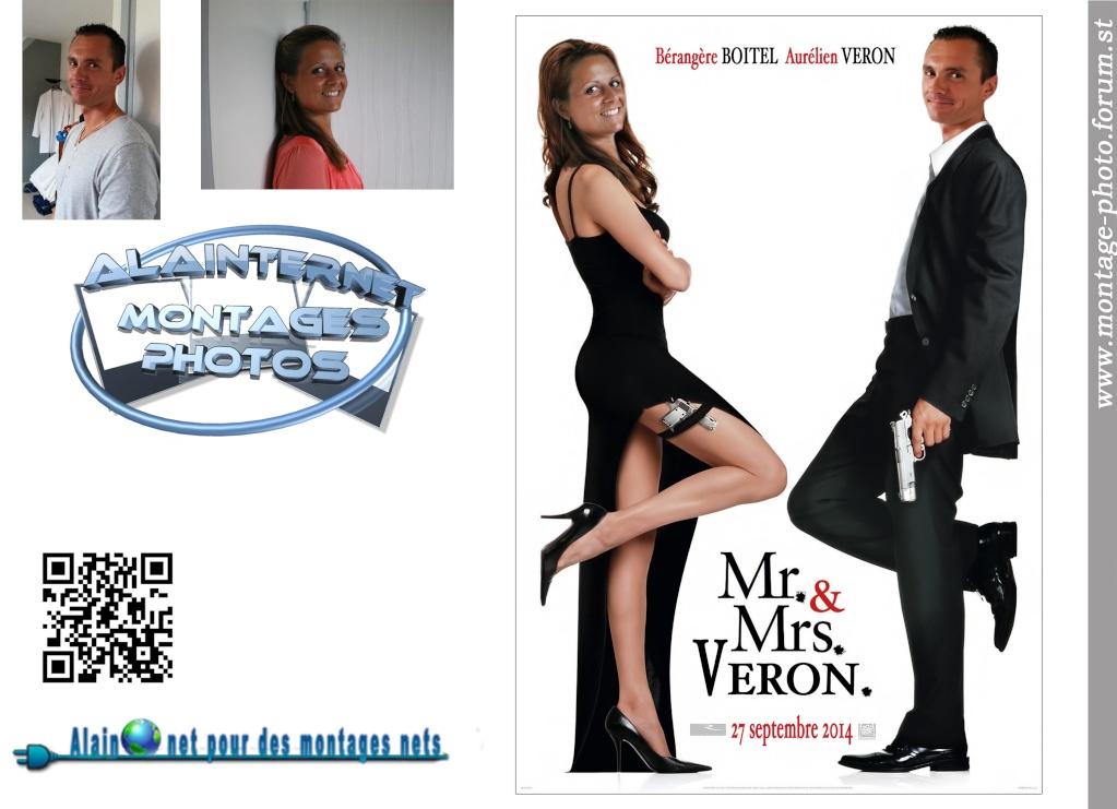 affiche de film personnalisée  sur theme mariage Sans_205