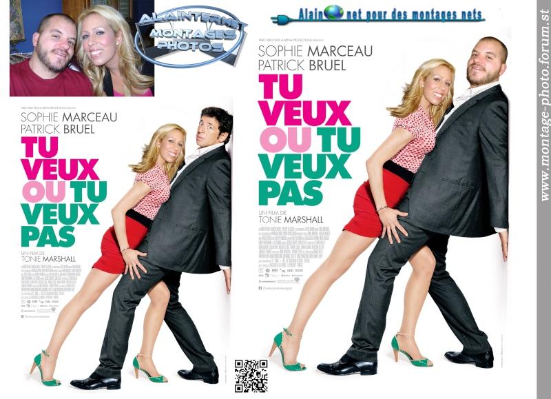 affiche de film personnalisée  sur theme mariage Sans_260
