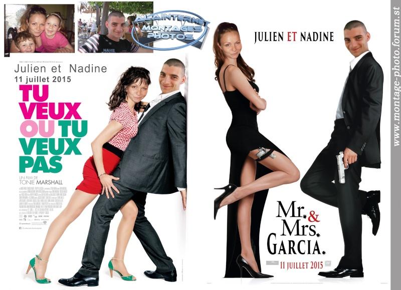 affiche de film personnalisée  sur theme mariage Sans_274