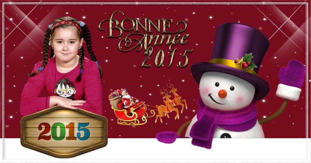 Carte de Bonne Année + calendrier Sans_389