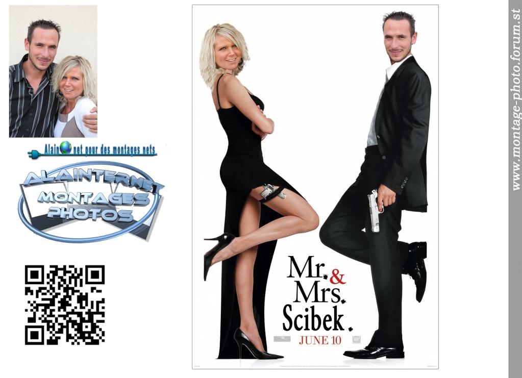 affiche de film personnalisée  sur theme mariage Sans_t25