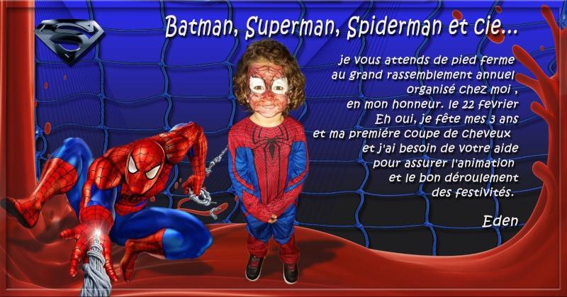 Demande montage pour invitation spiderman Spider12