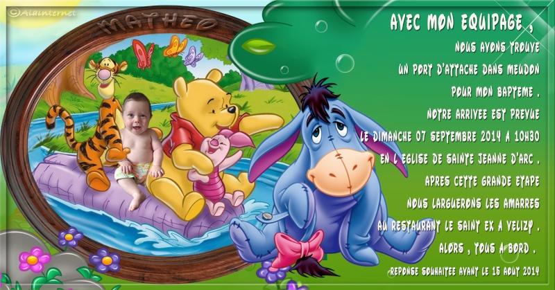Montage Photo pour baptême winnie l'ourson déja réalisé Textea11