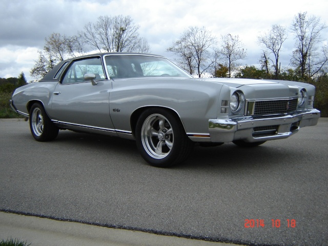 Update :1973 Monte Carlo Body off frame resto Dsc03220