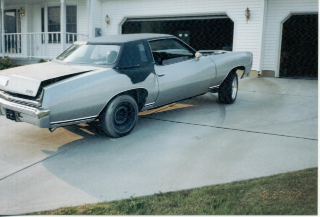 Update :1973 Monte Carlo Body off frame resto Scanne23