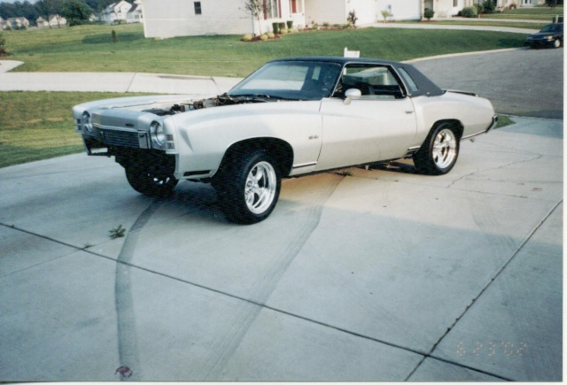 Update :1973 Monte Carlo Body off frame resto Scanne24
