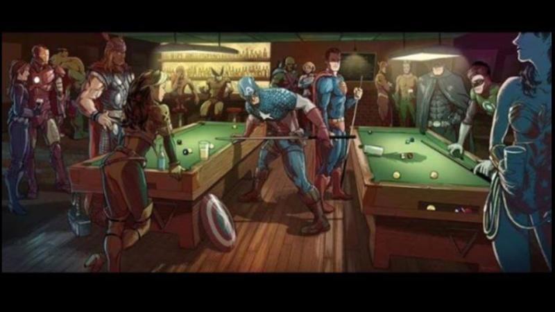 Marvel und DC Filme, sowie Serien aller Art.  10534310