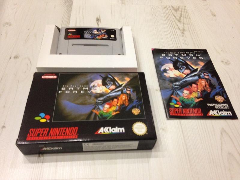 Judge Dredd sur Super nintendo avec boîte carton de qualité différente. Batman10