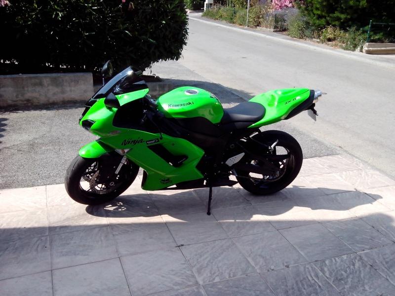 Mon zx6r 2007 appelé aussi ma grenouille Img_2020