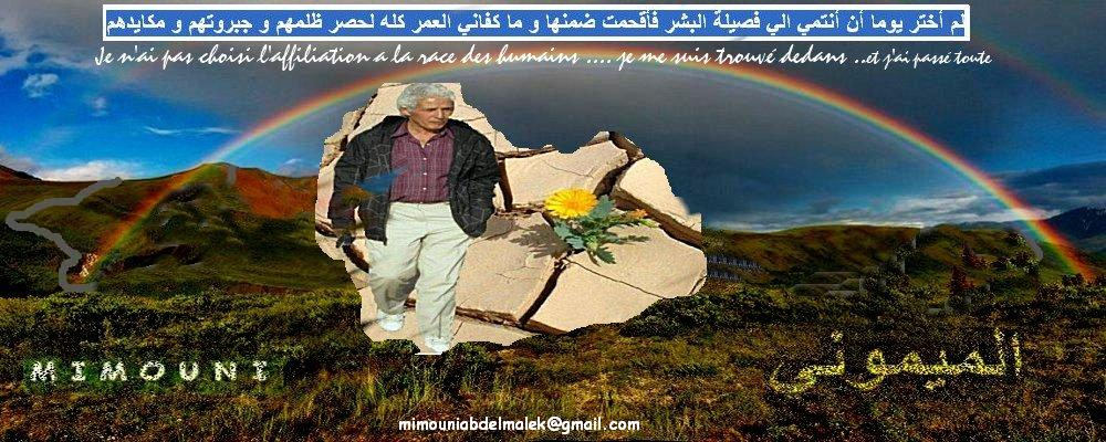 mimouni abdelmalek  عبدالملك ميموني