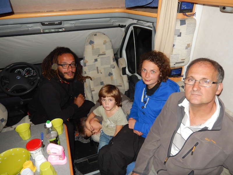 OSH le 23.05.2014 passage de notre 16 ème  frontière Dscn5516