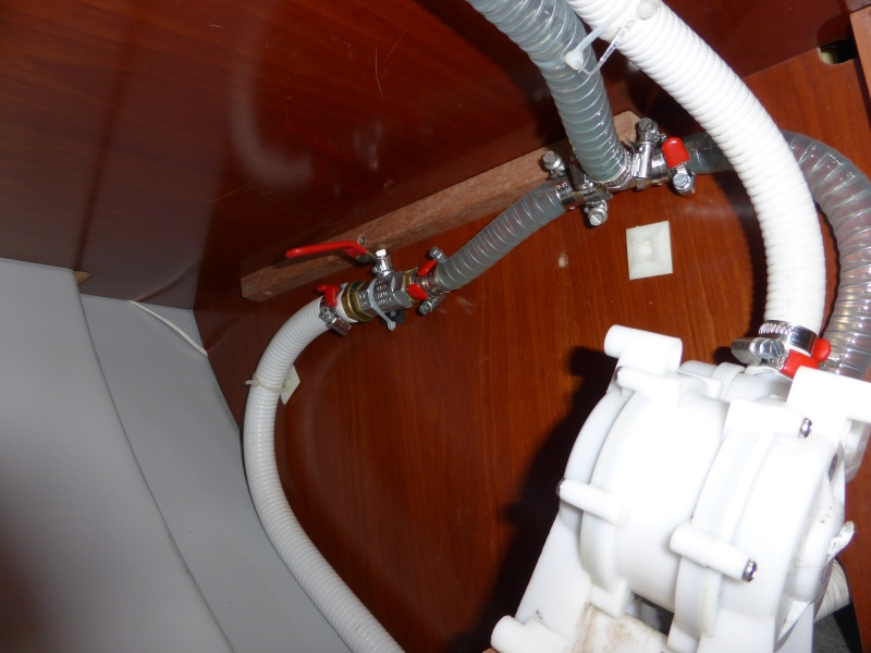 Pompe à pied eau de mer OC 393 P1000013