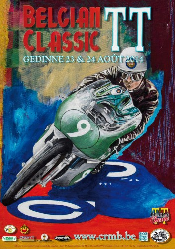 belgium classic TT   a gédinne Affich10