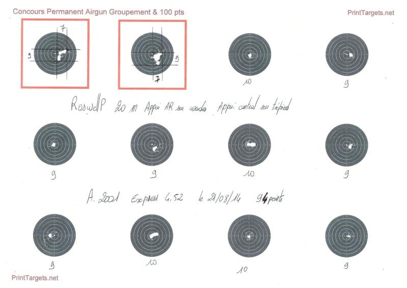 """Concours permanent bimestriel """"groupement & 100pts"""" sur cible CC A4 : Juillet aout  2014 - Page 3 20_m_a10"""