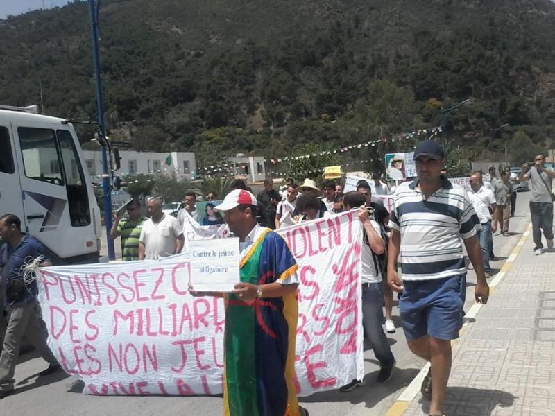 Aokas: Marche contre l'inquisition pour la liberté de conscience 05 Juillet 2014 10520029
