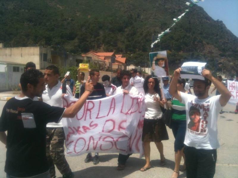 Aokas: Marche contre l'inquisition pour la liberté de conscience 05 Juillet 2014 10520043