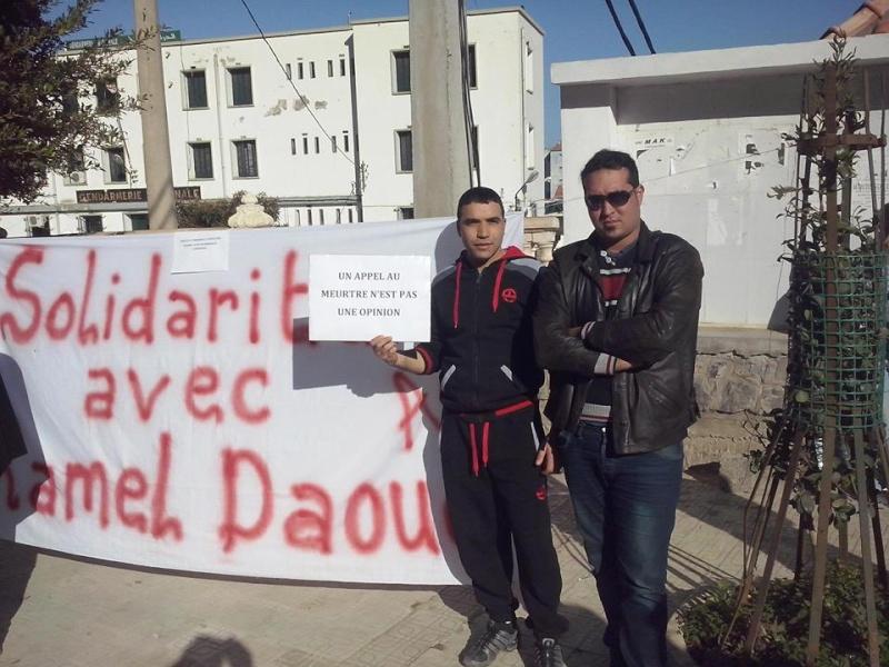 Rassemblement de solidarité avec Kamel Daoud à Aokas mardi 23 decembre 2014 - Page 2 1201