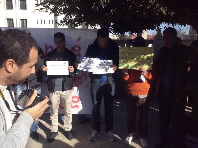 Rassemblement de solidarité avec Kamel Daoud à Aokas mardi 23 decembre 2014 - Page 4 1234