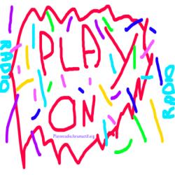 Un logo pour Play On Radio. Play_o11