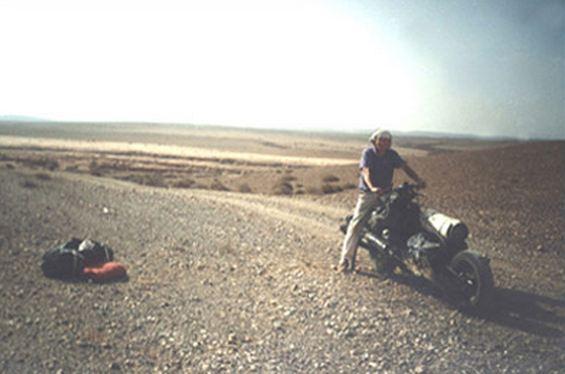 La moto de Mc Gyver Leray211