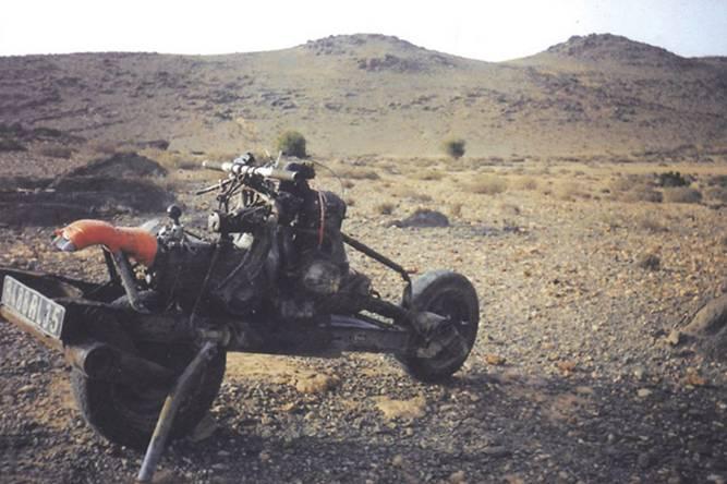 La moto de Mc Gyver Leray312
