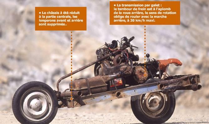 La moto de Mc Gyver Leray411