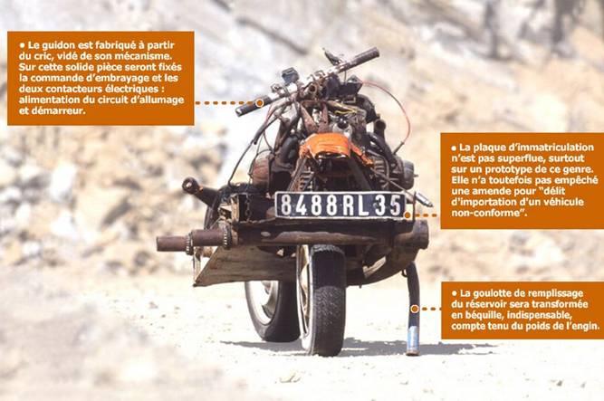 La moto de Mc Gyver Leray610