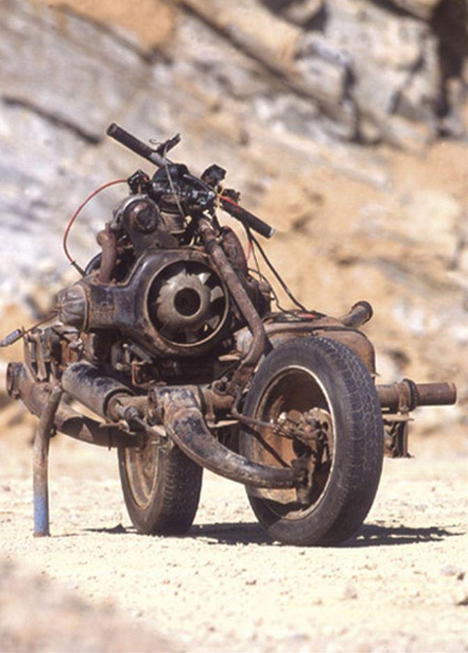 La moto de Mc Gyver Leray711