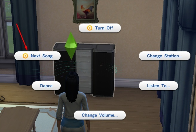 How to add custom music into your Sims 4 game. Screen24