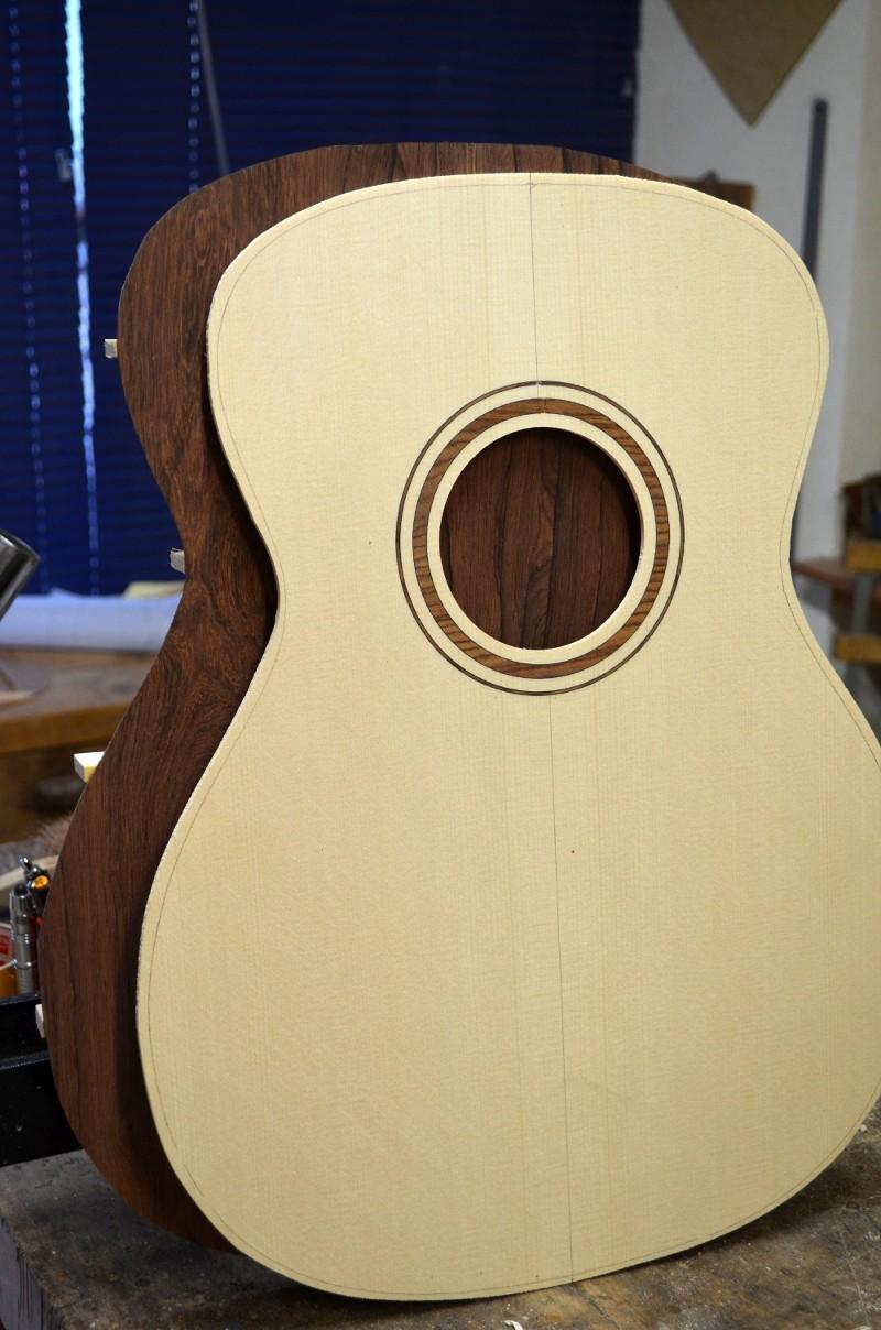 Ma nouvelle guitare : une Féjoz !!!!! T110