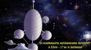 Die (Zeit)-Reise eines Menschen zu außerirdischem Leben Mutter10
