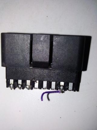 Connecteur Obd2 Garmin Ecoroute Hd recherche schéma pour réparation Odbd210