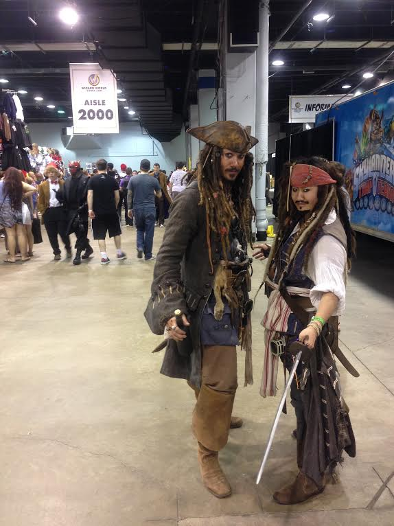 "Jack Sparrow ""sighting"" where have you seen the Captain? Google? Starbucks?  -411"