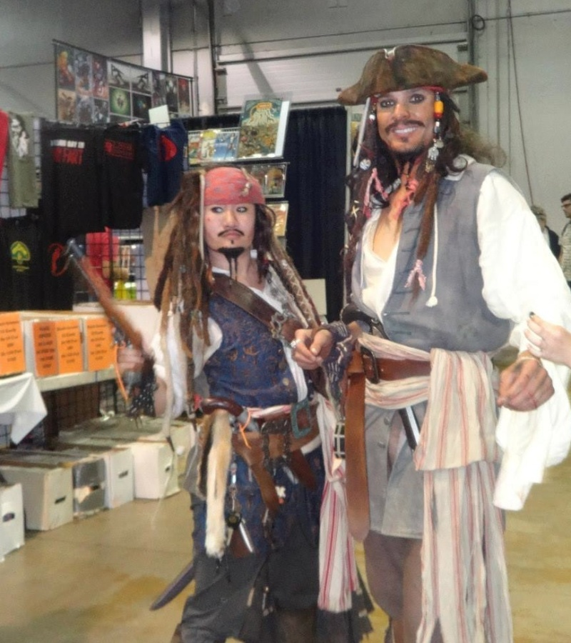 "Jack Sparrow ""sighting"" where have you seen the Captain? Google? Starbucks?  10548710"