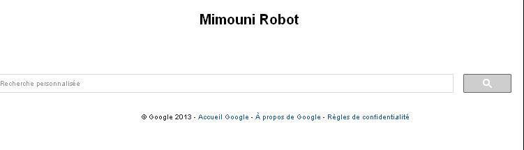 Moteur de recherche Mimouni designé par: Mimouni Robot Mimoun10