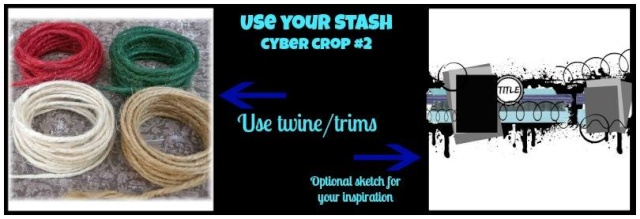 Twine/Trim Challenge!! Aug_tw10