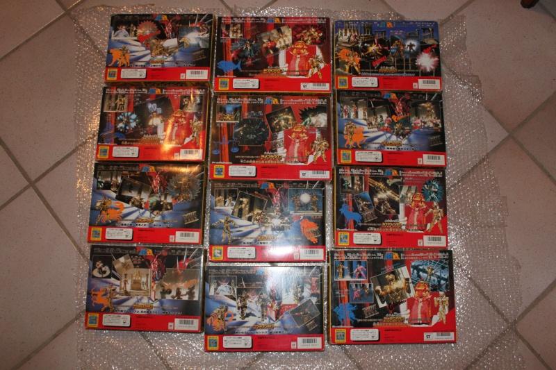 Cavalieri dello Zodiaco CDZ Saint Seiya 12 cavalieri d`oro collezione completa 1987 originali Japan never used! introvabili!!! Tn_img11