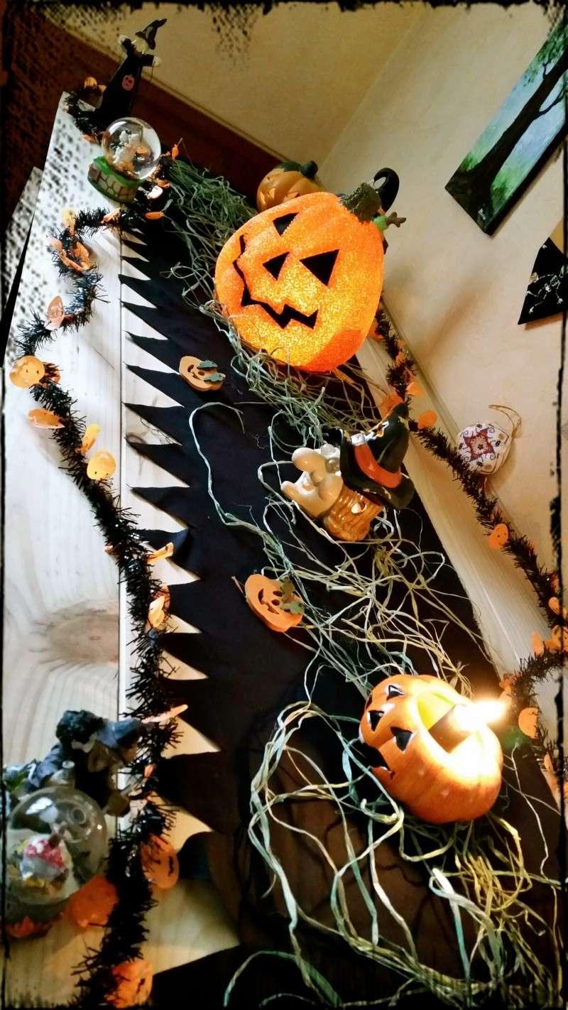 Décoration d'Halloween Buffet10