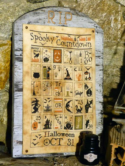 The primitive Hare  Spooky Countdown Spooky10