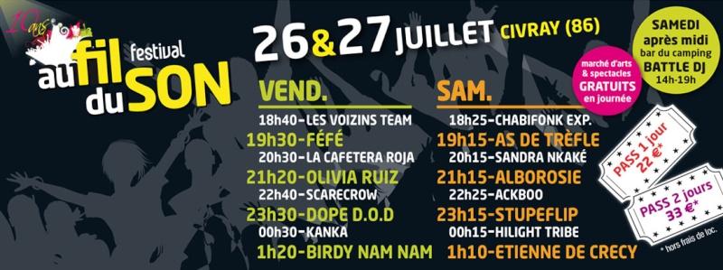 Festival Au Fil Du Son à Civray Bannia10