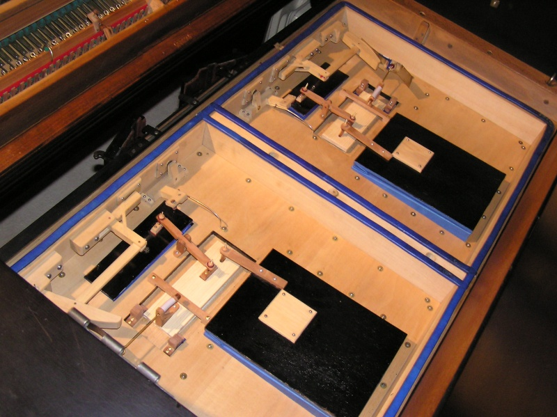 La copies de pièces manquantes pour le double expression Alexandre - Harmonium d´Art 410