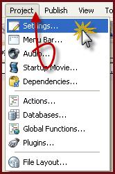 كيفية إضافة Skin للمشروع في AutoPlay Media Studio V8.0.7.0 1104