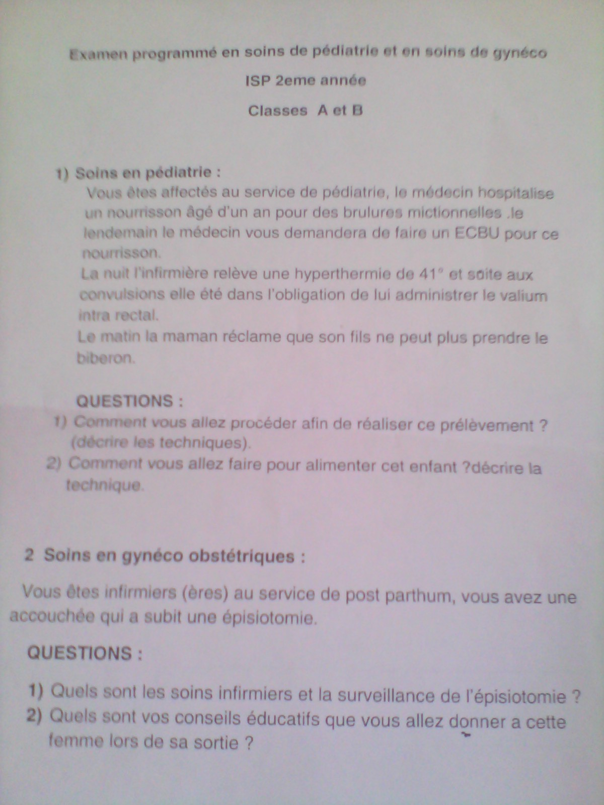 soins en pédiatrie+soins en généco)sujet d'examen pour les ISP 2ème année)  Img_2010