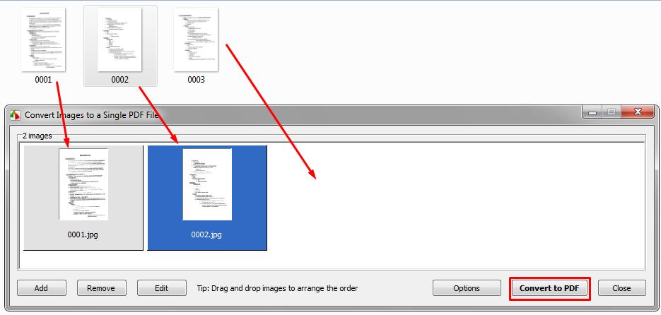 تحويل مجموعة من الصور وجعلها على شكل كتاب ( بصيغة PDF )  Screen25