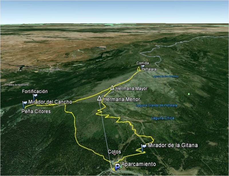 Senderismo: sábado 30 de agosto 2014 - Peña Cítores y la fortificación de la Guerra Civil 074_pe10